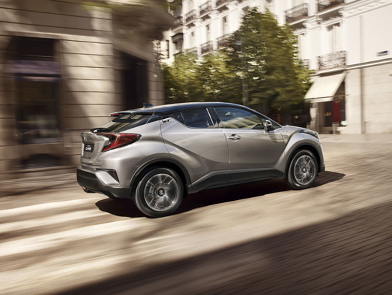C-HR-Premiere in Bramsche
